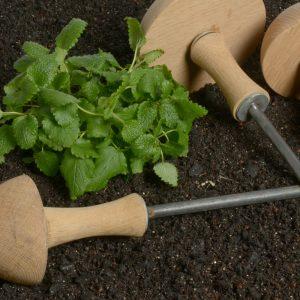 Holz-Pilz als Schlauchumlenker in 3 Größen oder Set