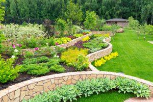 Gestaltung des Garten