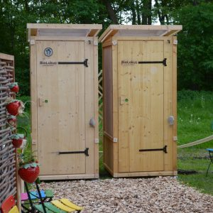 komposttoilette biolokus gartenfrosch. Black Bedroom Furniture Sets. Home Design Ideas