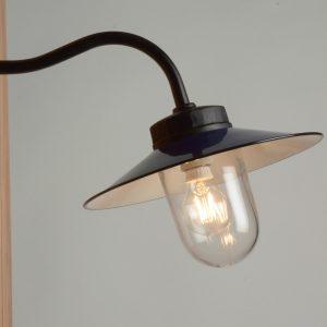Außenlampe schwarz Retrolampe