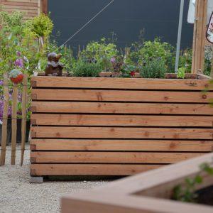 Holzhochbeet von Gartenfrosch