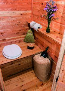 Komposttoilette Biolokus von innen
