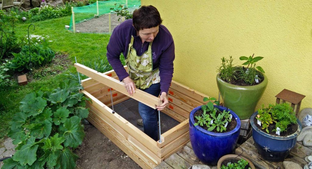 Hochbeet aufbauen leicht gemacht